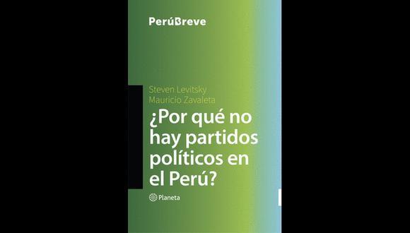 Portada del libro escrito por Steven Levitzky y Mauricio Zavaleta.