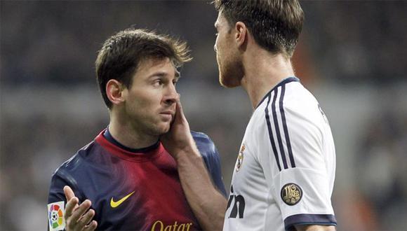 Xabi Alonso, además, contó que existe una fórmula para frenar a Lionel Messi en el campo. Esa clave fue descifrada por él junto con Sergio Ramos y José Mourinho. (Foto: EFE)