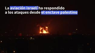 """Enfrentamiento en Israel y Gaza amenaza con """"guerra a gran escala"""""""