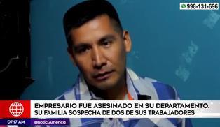 Independencia: empresario cafetero es hallado sin vida en su departamento