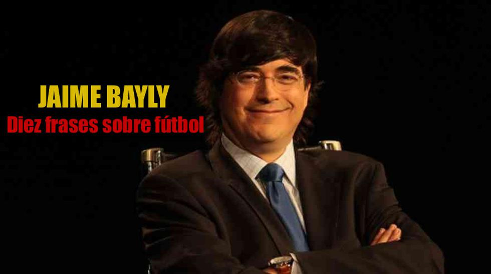 Jaime Bayly Cumple 51 Anos Sus Mejores Frases Sobre Futbol Deporte Total El Comercio Peru Spending too much time in soccer games at school, his low academic. jaime bayly cumple 51 anos sus mejores