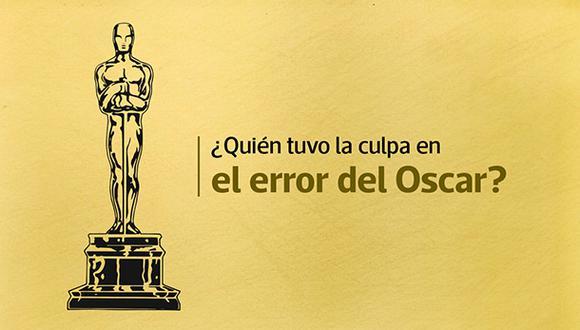 ¿Quiénes son los verdaderos culpables del error en el Oscar?