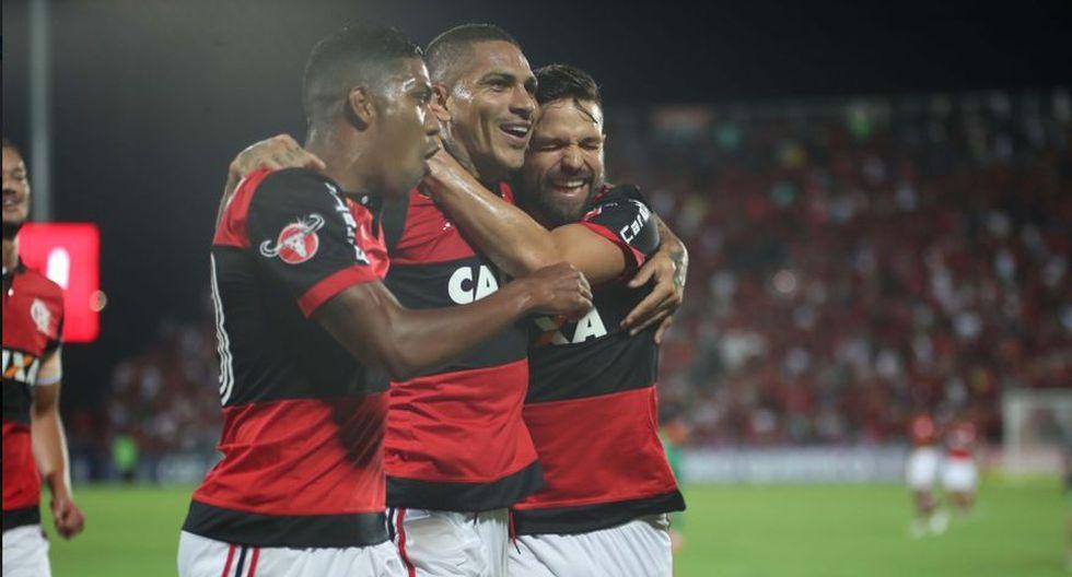 Flamengo no descansa ni un instante. Este domingo (04:30 pm.) visita el Estadio Fonte Nova para medirse ante el Bahía. Los jugadores Paolo Guerrero y Miguel Trauco están convocados. (Foto: Web Flamengo)