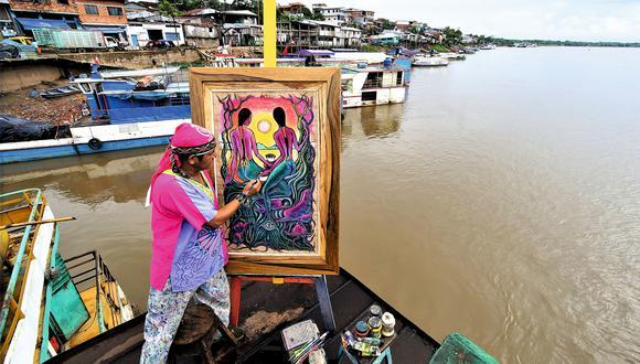 Al borde del Huallaga, Sixto Saurín retrata su mundo. Otros pintores destacados de Yurimaguas son Juan Escalante, Sandro Perea, Fortunato Meza y Kewin Pezo. Sus obras se pueden apreciar en la Galería de Arte Amazónico.
