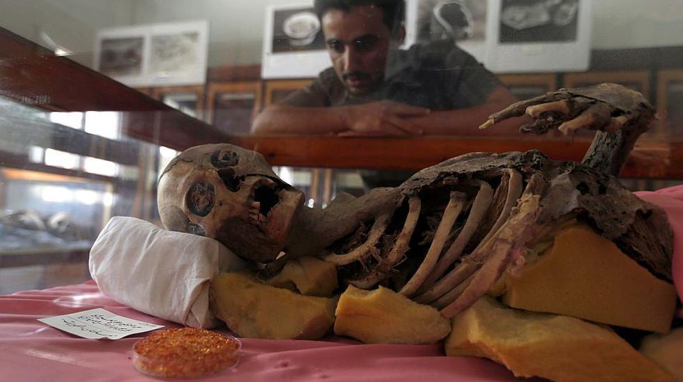Las momias milenarias amenazadas por la guerra en Yemen - 1