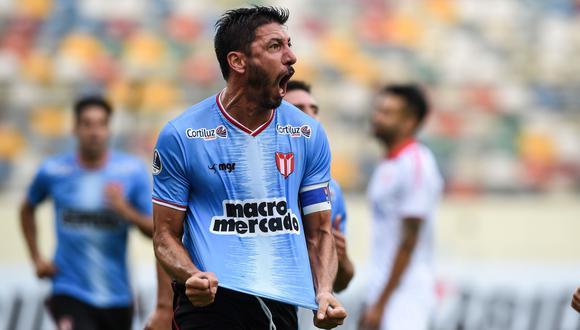 Atlético Grau cayó 2-1 ante River Plate de Uruguay en el Monumental por la Copa Sudamericana 2020 [Foto: AFP]