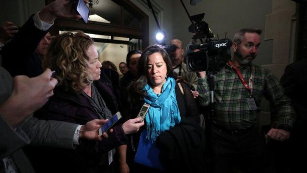 Jody Wilson-Raybould considera que el gobierno de Trudeau actuó de manera inapropiada. Foto: Reuters