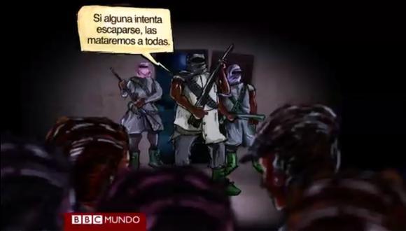 Así escaparon tres niñas de manos del Boko Haram [VIDEO]