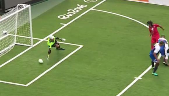 Futbolista invidente anotó un golazo en Juegos Paralímpicos