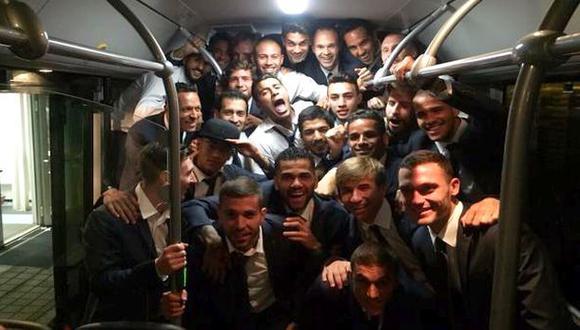 Barcelona y la foto feliz del plantel que jugará la final