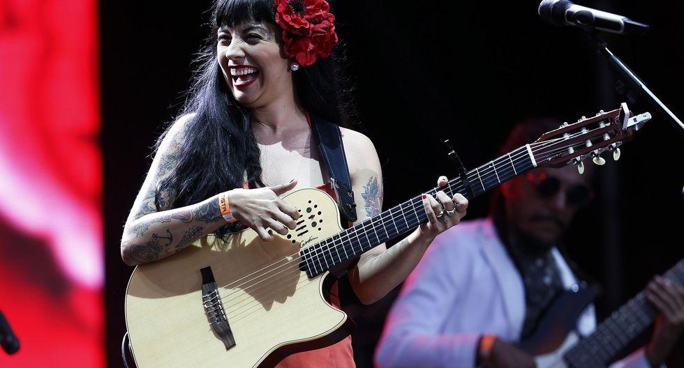 Mon Laferte se presentará este 5 de julio en Barranco Arena. (Foto: EFE)