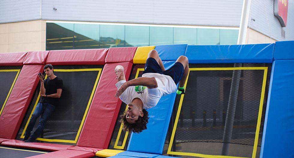 En noviembre, Jump Spot sumó un nuevo parque de trampolines de 500 m2 en la ciudad comercial Minka (Callao) y este mes hará lo propio en un espacio de 367 m2 en el centro comercial Mall del Sur (San Juan de Miraflores).