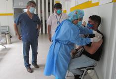 Áncash: Essalud llega hoy al 100% de inmunizaciones contra el COVID-19 en la primera línea