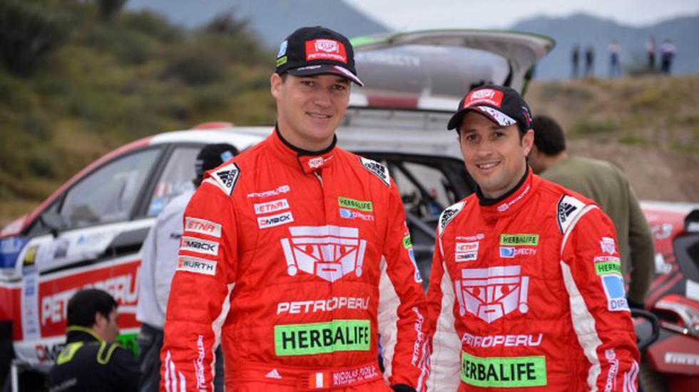 Nicolás Fuchs está listo para disputar el Rally El Calafate - 1