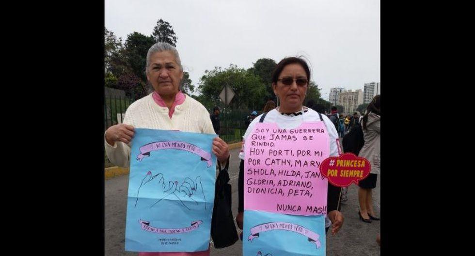 #NiUnaMenos: imágenes de la concentración pre marcha [FOTOS] - 7