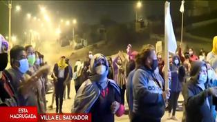 Invasores de Lomo de Corvina se enfrentaron con piedras a policías
