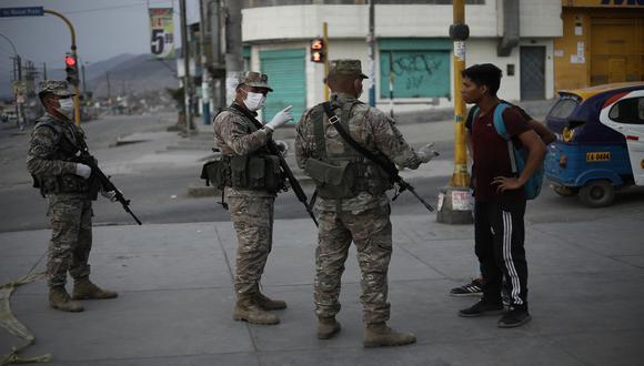 Policía Nacional informó las medidas restrictivas que regirán el domingo 11 de abril por las elecciones 2021 (Foto: Joel Alonzo/GEC)