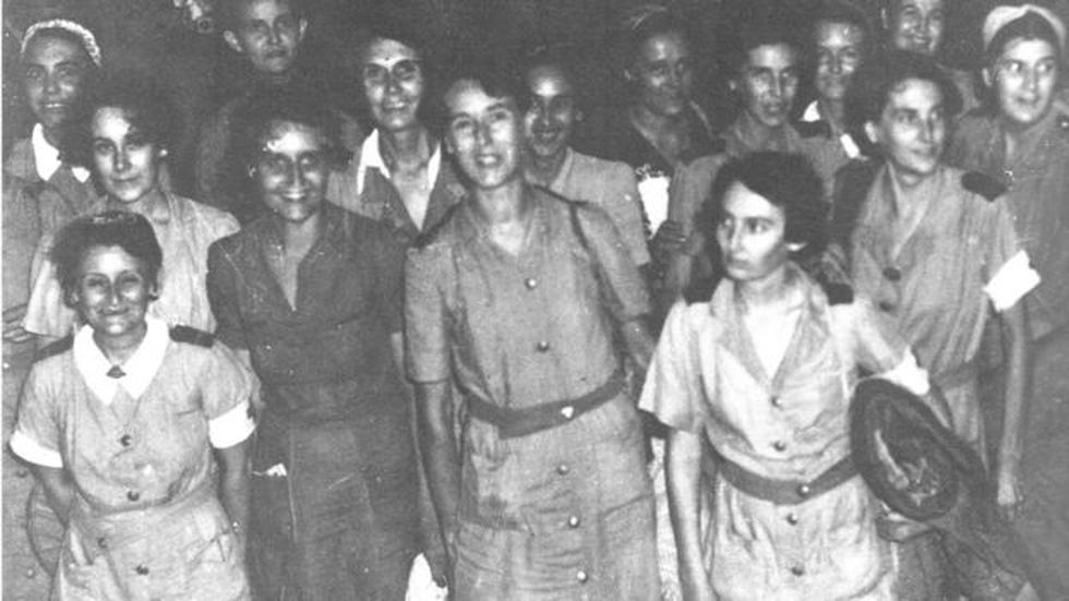 Las enfermeras que no estaban en la isla de Bangka fueron llevadas a Singapur después de ser evacuadas de Sumatra en 1942.