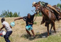 Las imágenes de agentes fronterizos persiguiendo a migrantes a caballo en EE.UU. que generaron polémica