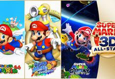 Nintendo presenta Super Mario 3D All-Stars, videojuego que incluirá a Super Mario 64, Sunshine y Galaxy | VIDEO