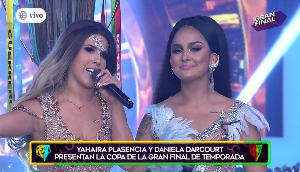 Daniela Darcourt opinó sobre el nuevo estilo de Yahaira Plasencia. (Foto: América TV)