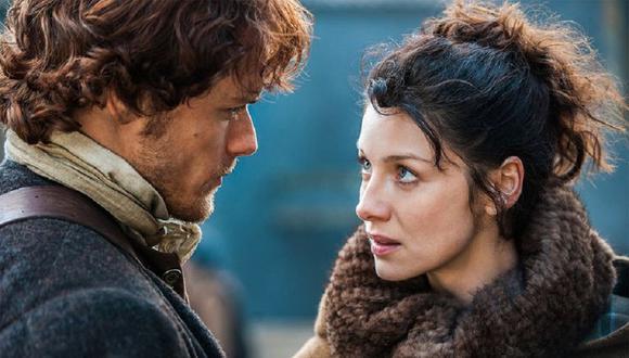 """Caitriona Balfe y Sam Heughan volverán para la quinta temporada de """"Outlander"""" (Foto: Starz)"""