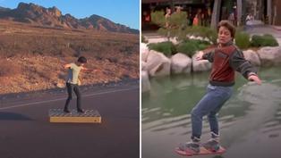 Volver al Futuro: conoce la patineta voladora en la vida real