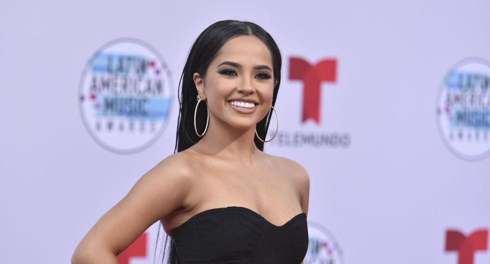 Becky G en los Latin American Music Awards 2019.