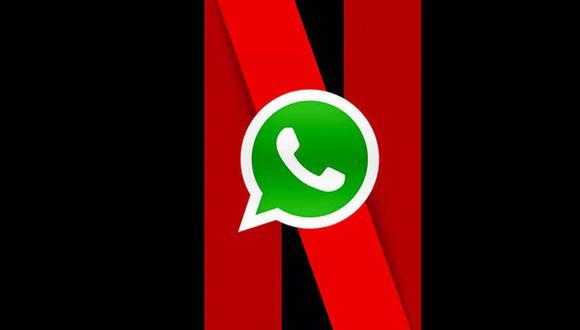 ¿Quieres ver todo tu contenido de Netflix en WhatsApp y sin salir de tus conversaciones? Prueba este truco. (Foto: WhatsApp)