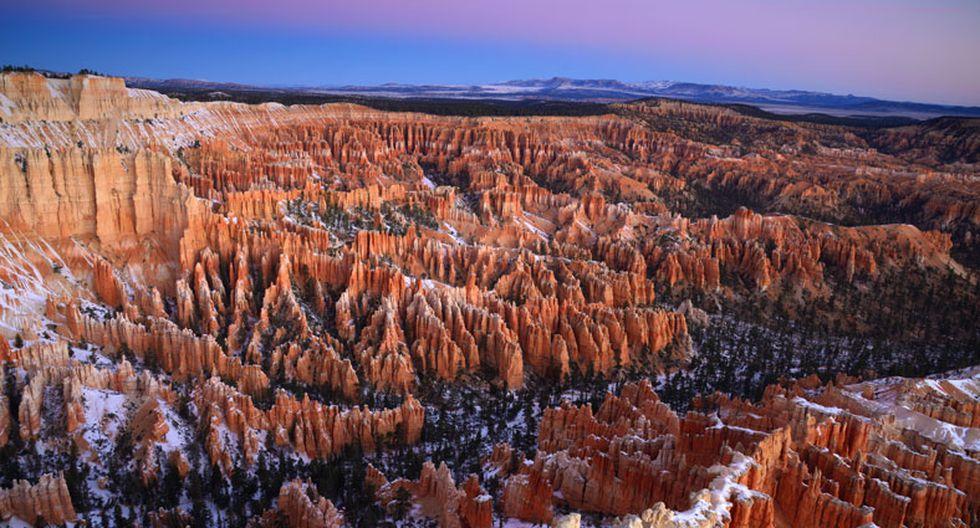 El Cañón Bryce es un lugar con imponentes 'chimeneas' gigantes - 1
