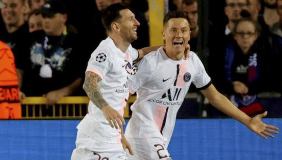 Ander Herrera se refirió al liderazgo de Lionel Messi en PSG. (Foto: AP)