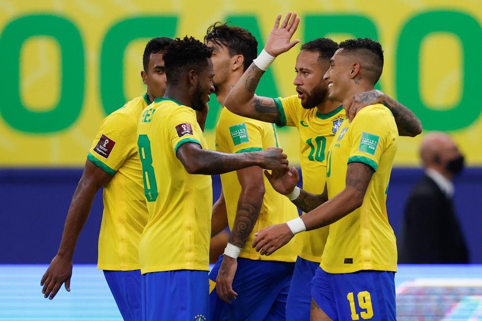 Brasil venció a Uruguay por las Eliminatorias Qatar 2022   Foto: AP/AFP/Reuters