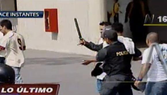 Vandalismo: 119 hinchas de la 'U' y Alianza fueron detenidos