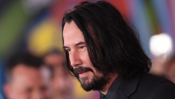 """La carrera del actor Keanu Reeves ha tenido un renacimiento en los últimos años gracias a la franquicia """"John Wick"""". Ahora regresa a la saga que lo convirtió famoso mundialmente con """"The Matrix Resurrections"""", a estrenarse el 22 de diciembre de 2021. (Foto: Valeria Macon/ AFP)"""