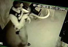 YouTube viral: un delincuente intenta robar edificio y terminar pidiendo ayuda al 911 | VIDEO