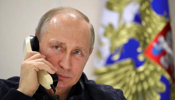El presidente de Rusia, Vladimir Putin, ha sido un aliado clave del régimen sirio de Bashar al Assad. [EFE]