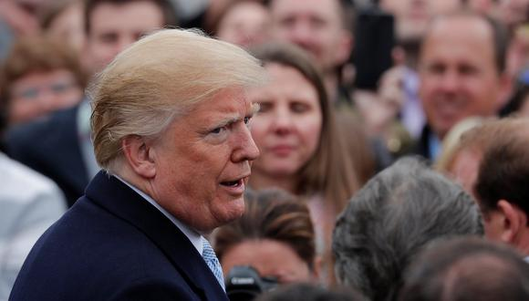 La Casa Blanca ha dicho que Donald Trump niega haber tenido algún amorío con Stormy Daniels. (Reuters)