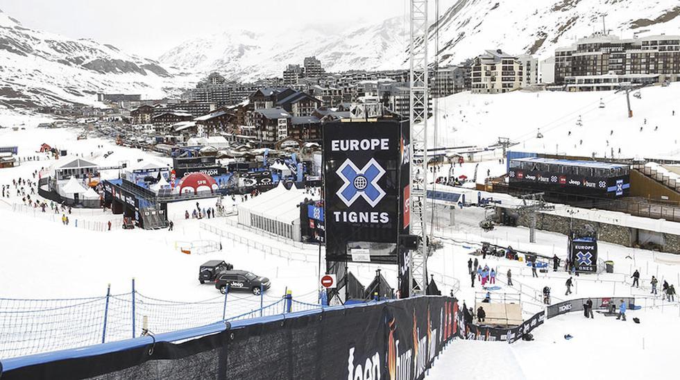 Francia: Espectacular avalancha en pista de esquí de los Alpes - 3
