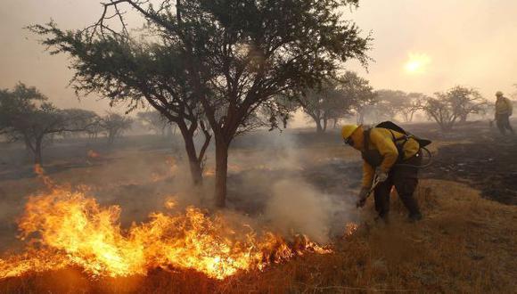 Levantan alerta roja por incendios forestales en Valparaíso