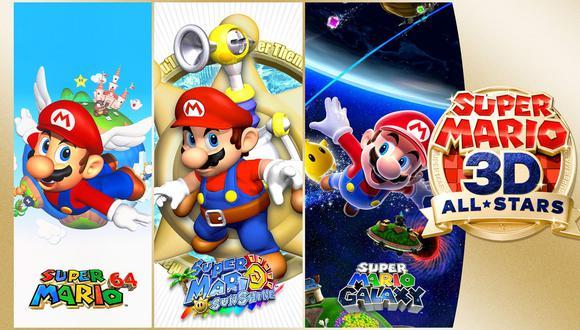 Super Mario 3D All-Stars está disponible desde el 18 de setiembre para Nintendo Switch. (Difusión)