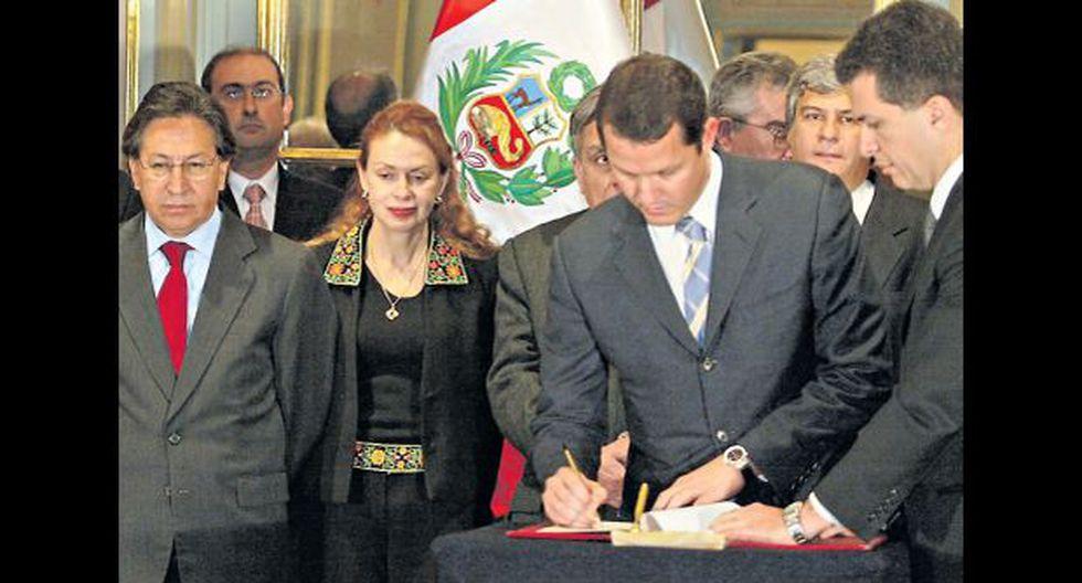 El 4 de agosto del 2005, durante gobierno de Alejandro Toledo, se firmó el contrato de concesión de la carretera Interoceánica Sur, tramos 2 y 3, proyecto a cargo de Odebrecht (Fotos: Archivo El Comercio)