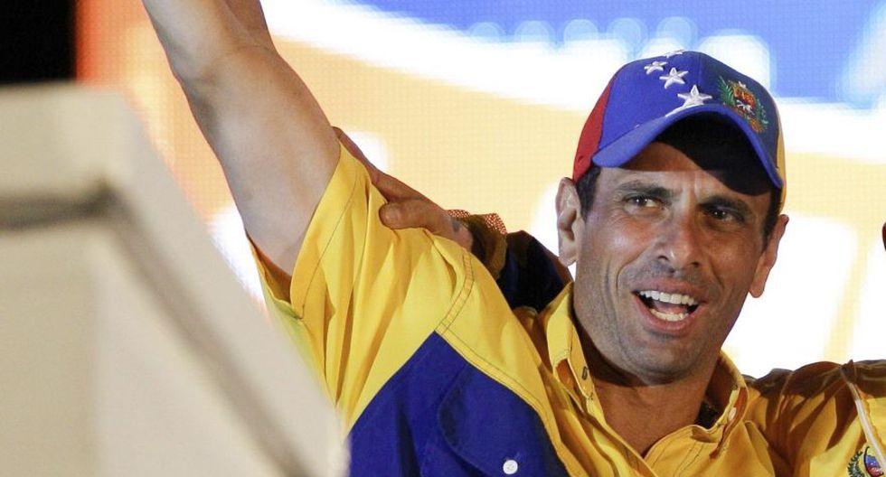 """Henrique Capriles: """"El tiempo no juega en contra de Juan Guaidó, juega contra Venezuela"""". (AP)"""