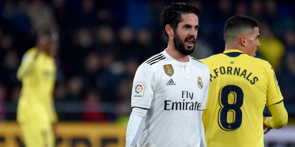 Isco no salió en lista de Real Madrid para medirse al Atlético de Madrid. (Foto: AFP)