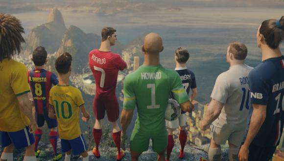 """""""El último partido"""" de Cristiano, Iniesta, Ribéry y Neymar"""