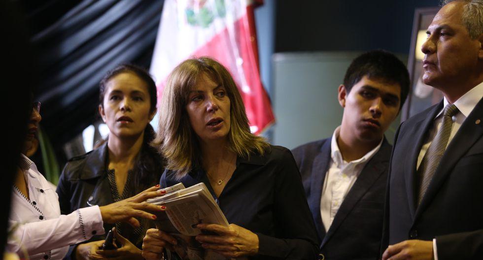 La denuncia de Cheesman se produce un día después de que la viuda del expresidente Alan García, Pilar Nores, y sus hijos Gabriela, Luciana y Alan Raúl García Nores interpusieran una denuncia similar contra  Nava Guibert (Foto: GEC).