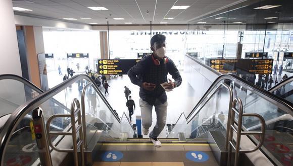 Aeropuerto Jorge Chávez. (Foto: Leandro Britto/ GEC)
