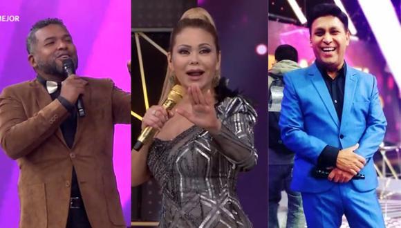 Gisela Valcárcel presentó a 'Choca' Mandros como reemplazo de 'Apoteósico'. (Foto: Captura América TV).
