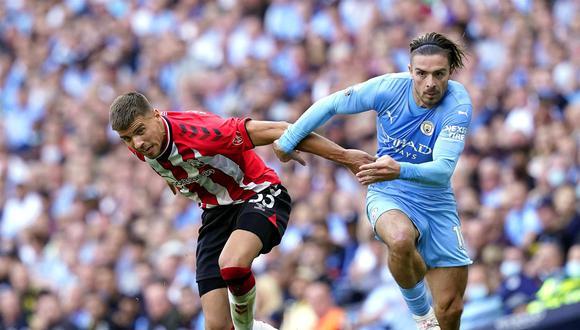 Resultado de Manchester City - Southampton por la Premier League. (Foto: EFE)