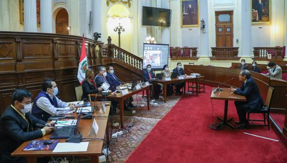 Las entrevistas, que culminan este miércoles 23, son presenciales y se desarrollan en dos turnos: mañana y tarde, en el Palacio Legislativo. (Foto: Congreso)