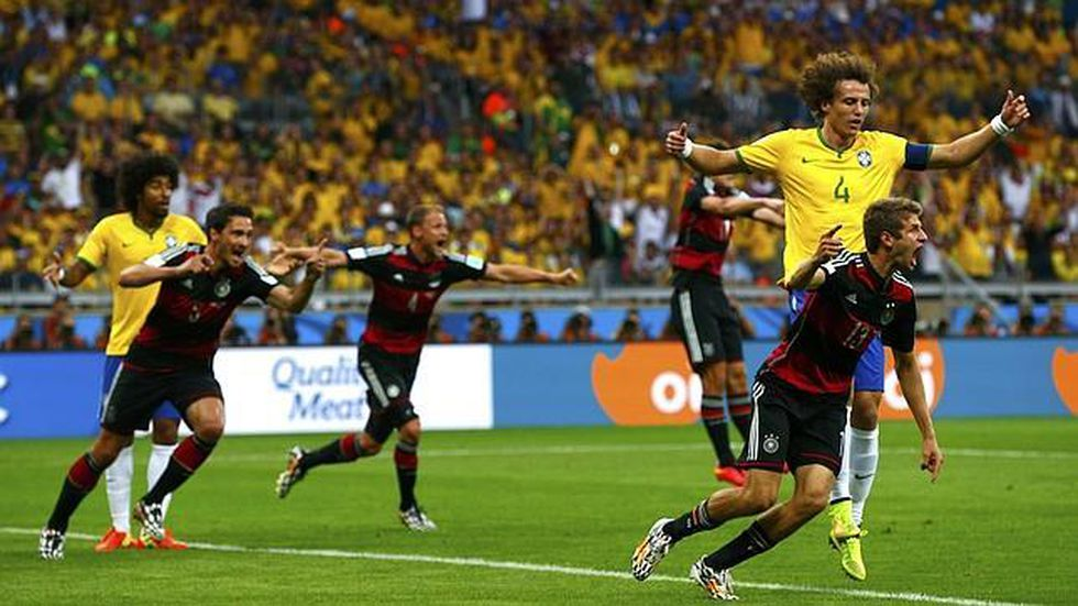 Por las semifinales del Mundial Brasil 2014, la selección local perdió por 7 a 1 frente a Alemania. (Foto: Reuters)